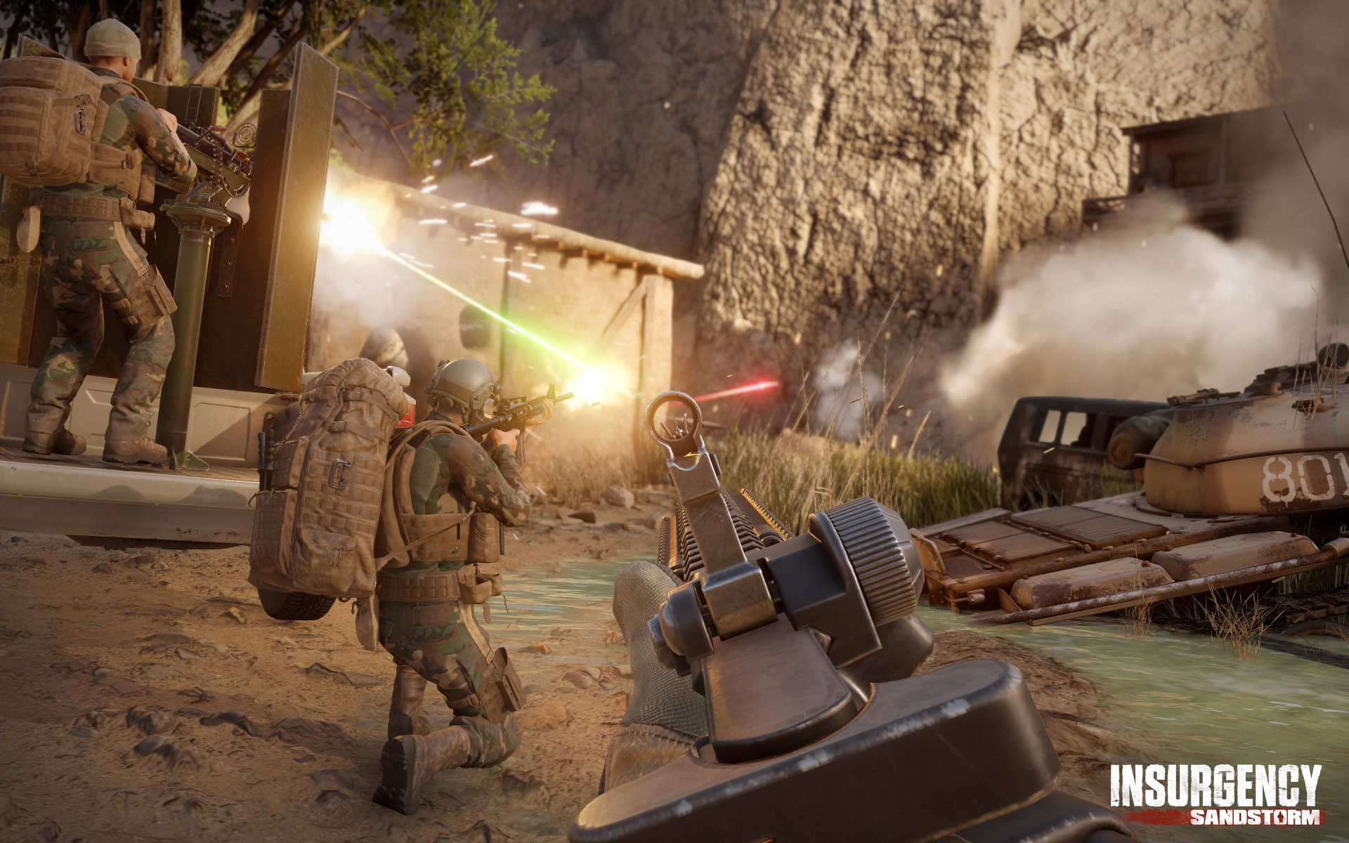 How Insurgency: Sandstorm Raises the Bar for Realistic First-Person Shooters